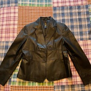 Price Reduced Great looking leather jacket